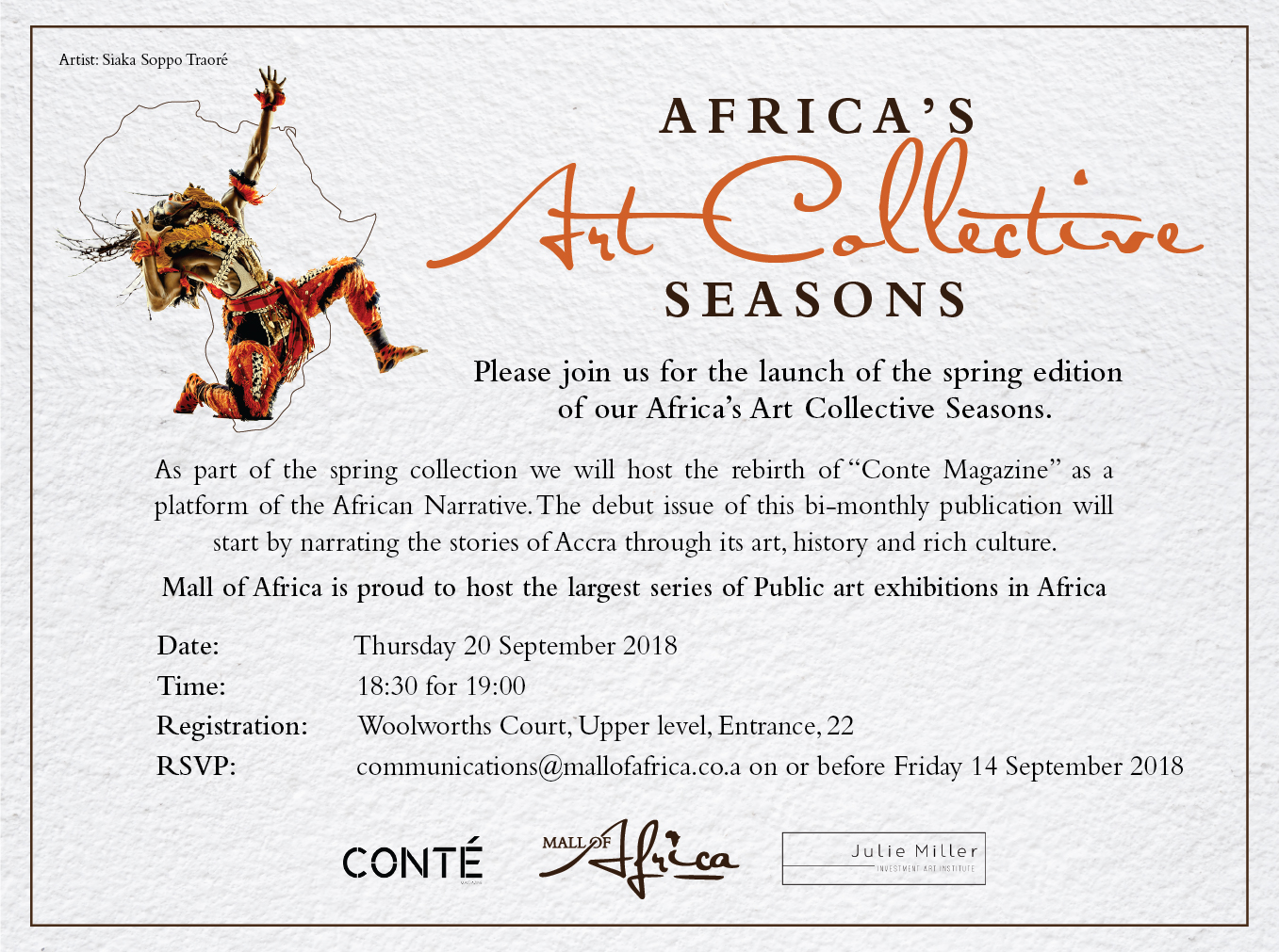 Seasons Spring Edition Art Collection at Mall of Africa